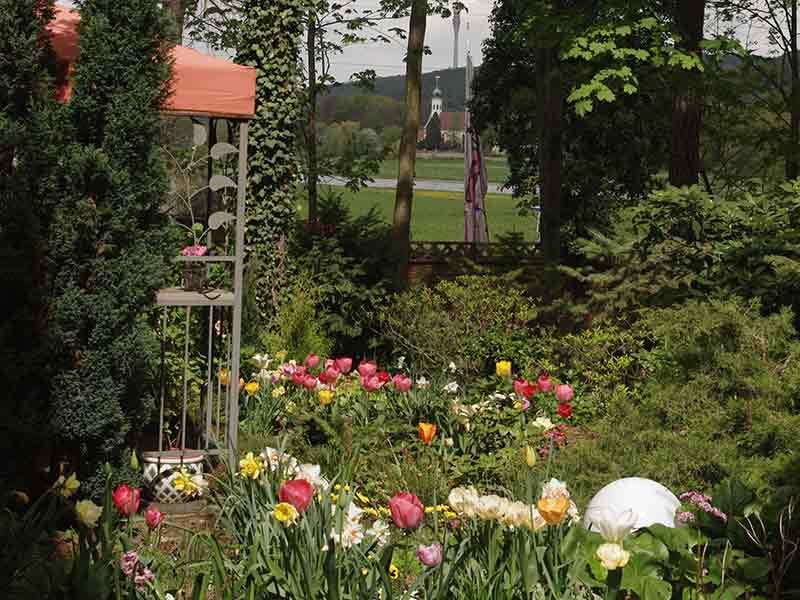 Frühjahr Ferienwohnung Meier
